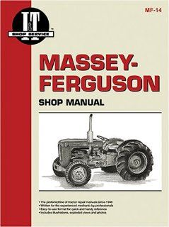 Massey Ferguson Shop Manual Models To35, Mh50, Mf50, To35 Diesel