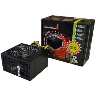 Alimentation PC 650 Watt   Ventilat 120 mm silencieux   Compatible