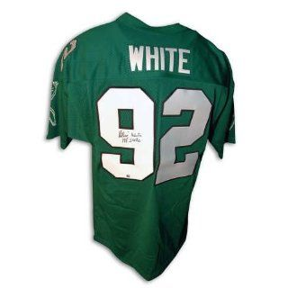 Philadelphia Eagles Throwback Jersey Inscribed 198 Sacks: Collectibles
