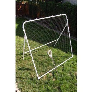 Backdoor Goals LAXBACK Lacrosse Rebounder Wall Sports