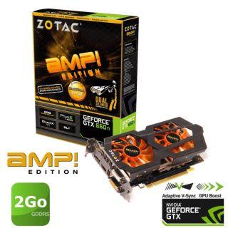 Carte graphique Nvidia GTX 660 Ti   GPU cadencé à 1033MHz   GPU