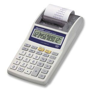 EL 1611P Handheld Calculator, 12 Digit LCD, One Color