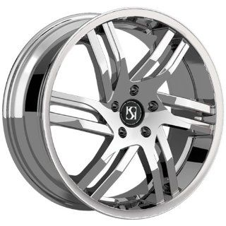 Koko Kuture Spline 20x8.5 CTS, LaCrosse, XTS Wheels Chrome (20x8.5