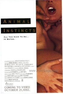 Animal Instinct Movie Poster (27 x 40 Inches   69cm x