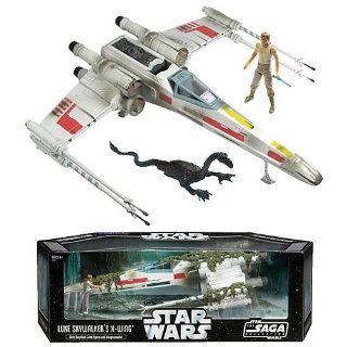 Star Wars X Wing Fighter Vehicle with Luke Skywalker