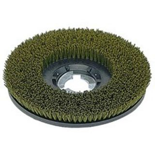 Oreck 17 inch Green Grey Nylo Grit Brush