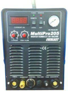 Everlast MultiPro 205 DC TIG Welder / Plasma Cutter Combo