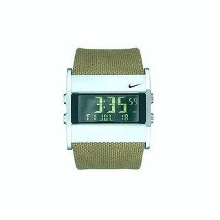 Nike Mens A0037 201 Oregon Series Square Digital Canvas Watch