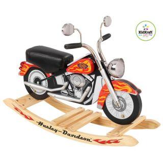 Moto à Bascule Harley Davidson KidKraft avec sons   Achat / Vente