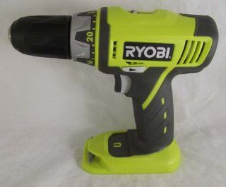 Ryobi P202 18V Lithium Ion Drill Driver (Bare Tool Only. Battery and
