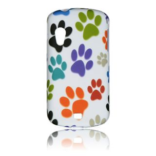 Luxmo Dog Paw Rubber Coated Case for Samsung Stratosphere/ I405