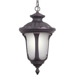 Woodbridge Lighting Westbrook 1 light Rust Outdoor Chain Hung Pendant