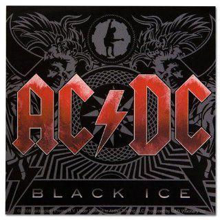 AC/DC Black Ice Album Art Sticker