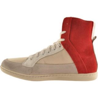 Mens Diesel Drugo Gulliver Pompeian Red/Light Ecru