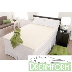 Dream Form Eco friendly 1 inch Memory Foam Mattress Topper Today $39
