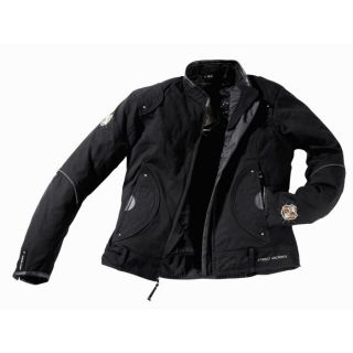 MAC ADAM Blouson Textile GAIA Noir   Achat / Vente VETEMENT HAUT MAC