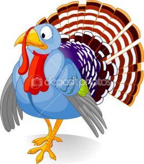 Cartoon Turkey  Stock Vector © Anna Velichkovsky #1158128