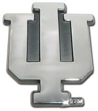 Indiana University Hoosiers IU Chrome Plated Premium