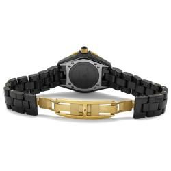 Swiss Legend Womens Karamica Black High Tech Ceramic Watch