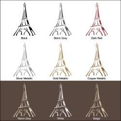 Vinyl Letter Decor Eiffel Tower 33.5 inch Vinyl Wall Decal