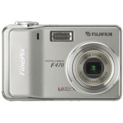 Fuji Finepix F470 6MP Digital Camera w/ Bonus Kit