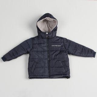 Calvin Klein Boys Navy Puffer Jacket