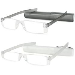 Urban Eyes Lucite Readers Tubes Womens Reading Glasses (Pack of 2