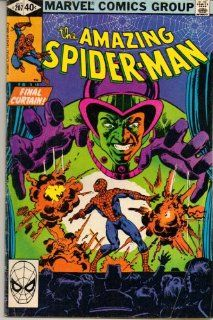 Amazing Spider Man, The No. 207 (Final Curtain) Marvel