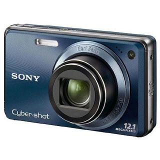 Sony Cyber Shot DSC W290 12.1MP Blue Digital Camera (Refurbished
