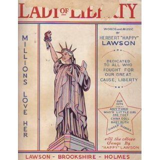 1946 Lady of Liberty by Herbert Happy Lawson   Statue of