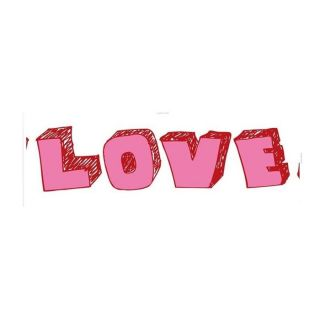 CADRE TOILE LOVE TYPOS 50 x 150 cm   Achat / Vente TABLEAU   POSTER