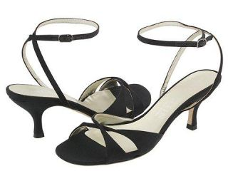 Anne Klein New York Copley Black Satin