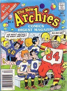 The New Archies Comics Digest Magazine, #4 ARCHIE COMICS