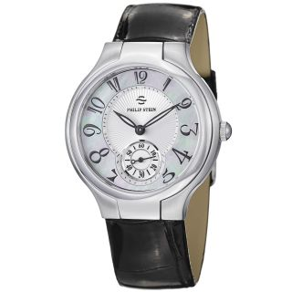Philip Stein Womens Novelties Mother Of Pearl Dial Strap Watch MSRP