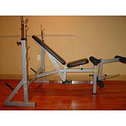Valor Fitness BF 37 FID Olympic Bench with Leg and Preacher Curl