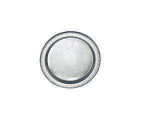 Elegance 15 Inch Round Stainless Steel Tray Kitchen