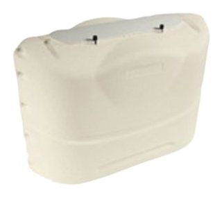 Camco 40525 RV 20 lb Propane Tank Cover   Colonial White