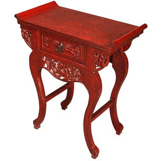 Antique style Hand lacquered End/ Console Table