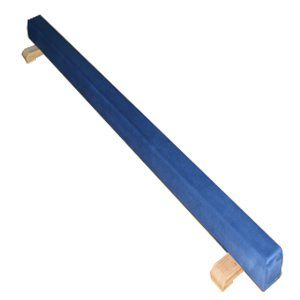 8 ft Orange Low Profile Suede FOLDING Balance Beam Sports