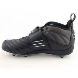 Adidas Mens Quickslant 5 D Black/White Football Cleats (Size 15