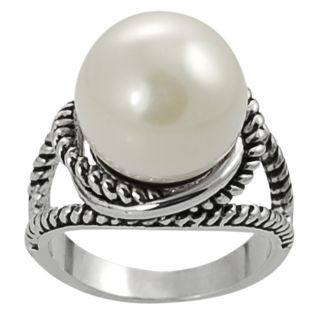 Pearls For You Sterling Silver Tahitian Pearl Ring (8 9 mm) Today $