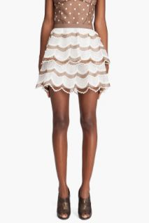 Marc Jacobs Tiered Scallop Skirt for women