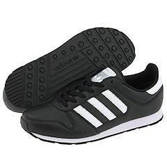 adidas Originals ZX 300 Leather Black/White/Black Athletic