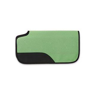 Air Flow Shock Absorber PVC Saddle Pad   Neon Green