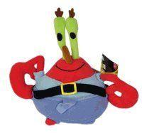 Spongebob Squarepants s friend   Mr. Krabs plush doll toy