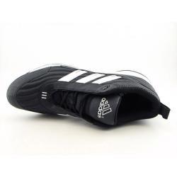 Adidas Mens Spinner IV 3/4 Black/White Baseball Cleats (Size 15