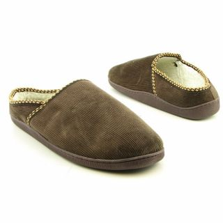 Beverly Hills Polo Club Mens Clog Slipper Brown Slippers