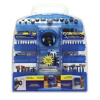 Maxtech HSS73389MX Rotary Tool Accessory Set, 218 pc