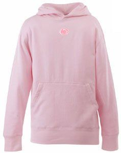 Penn State YOUTH Girls Signature Hooded Sweatshirt (Pink