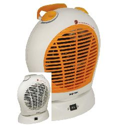 Impress Portable Oscillating Heater with Termperature Control Today $